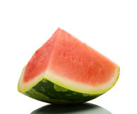 A piece of watermelon Royalty Free Stock Photos
