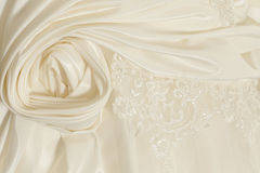 Piece wedding dress Stock Photography