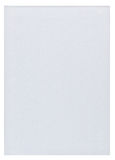 Piece of white blank paper. Isolated on pure white background Stock Photography