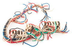 Piece of wire Royalty Free Stock Images