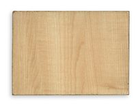 Piece of wood with rim Royalty Free Stock Photography