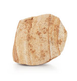 Piece of yellow sandstone Stock Photos