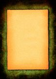 Piece of yellowed paper Stock Photo