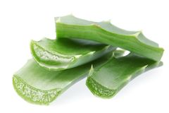 Pieces of aloe vera Stock Photo