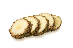 pieces ananas Arkivfoto
