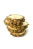 pieces ananas Royaltyfri Foto