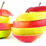 Pieces of apple. Royalty Free Stock Photography