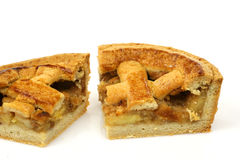 Pieces of apple pie Royalty Free Stock Image