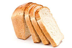 Pieces of bread Royalty Free Stock Photography