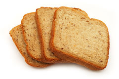 Pieces of bread Royalty Free Stock Images
