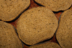 Pieces of bread Stock Image