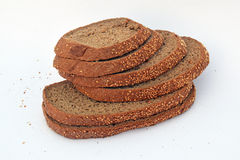 The pieces of bread Royalty Free Stock Photo