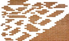 Pieces of brick wall Stock Photos