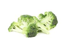 Pieces of Broccoli Royalty Free Stock Images