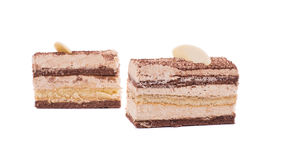 Pieces of cake. Stock Image