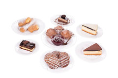 Pieces of cake. Royalty Free Stock Photo