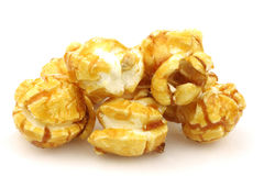 Pieces of caramel popcorn Stock Photo