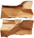 Pieces of cardboard Stock Images
