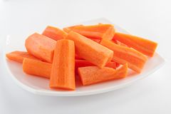 pieces of carrots Stock Photography