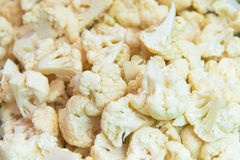 Pieces Of Cauliflower Royalty Free Stock Image
