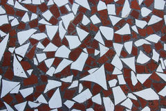 Pieces of ceramic tile Stock Images