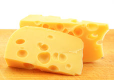 A pieces of cheese Stock Image