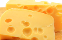 A pieces of cheese Stock Photo