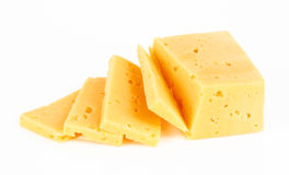 Pieces of Cheese Royalty Free Stock Photo