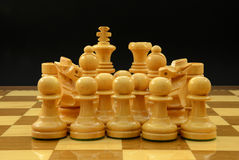 Pieces of chess Royalty Free Stock Images
