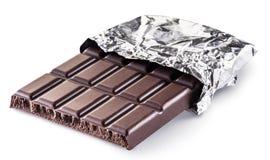 Pieces of chocolate bar. Stock Photos