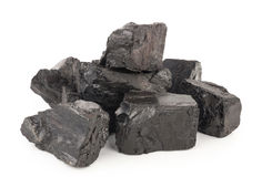 Pieces of coal Royalty Free Stock Photo