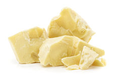 Pieces of cocoa butter Royalty Free Stock Photo