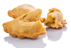 Pieces Of Curry Puff II Royalty Free Stock Photography