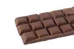 Pieces of Dark chocolate Stock Image