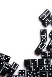 Pieces of domino Stock Image