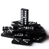 Pieces of domino Royalty Free Stock Image