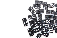 Pieces of domino Royalty Free Stock Photography