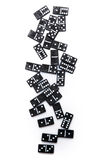 Pieces of domino Royalty Free Stock Photo