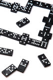 Pieces of domino Royalty Free Stock Photos