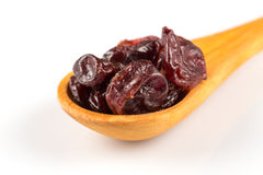 Pieces of dried cherry Stock Image