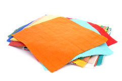 Pieces of fabric Royalty Free Stock Photo