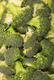 Pieces fresh raw broccoli closeup. Texture. Pieces of fresh raw broccoli closeup. Texture Stock Images