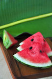 Pieces of Fresh Watermelon Stock Image
