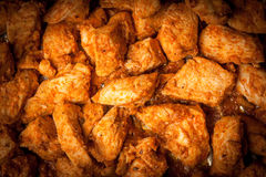 Pieces of fried chicken. Stock Image