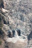 Pieces of glacier crash Stock Photo