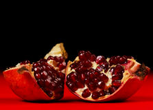 Pieces of grenadine Royalty Free Stock Photography