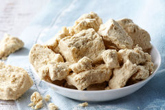 Pieces of halva Stock Images