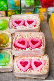 Pieces of handmade SOAP Royalty Free Stock Images