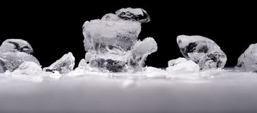 Pieces of ice Royalty Free Stock Photo