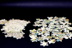the jigsaw puzzle royalty free stock images